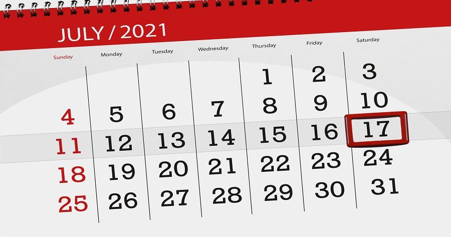 Covid-19: I dati del 17 luglio 2021