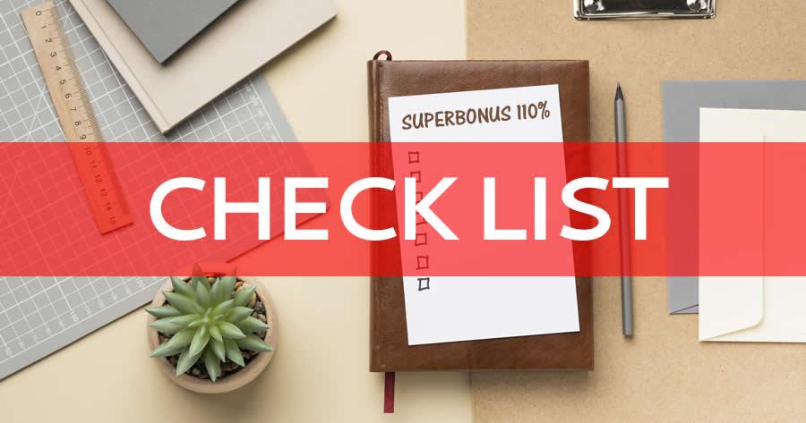 Superbonus 110% e condomini: la check list dei documenti