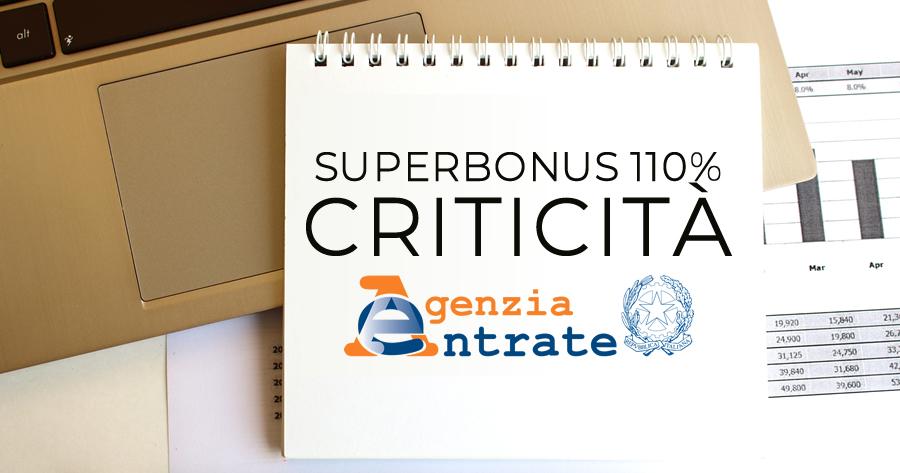Superbonus 110%: le criticità negli interpelli all'Agenzia delle Entrate