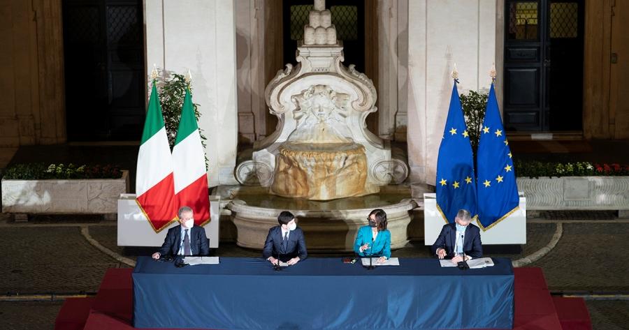 Covid-19: Il Presidente Draghi firma il nuovo Dpcm