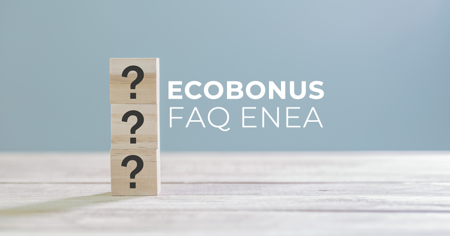 Ecobonus: 43 nuove FAQ dall'Enea sulle detrazioni fiscali per l'efficienza energetica