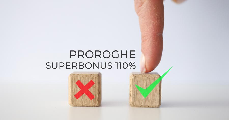 Superbonus 110%: via libera alle proroghe al 30 giugno 2022 per le unifamiliari