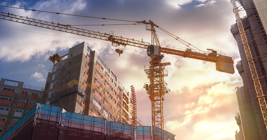 La vendita di un edificio in costruzione in Francia