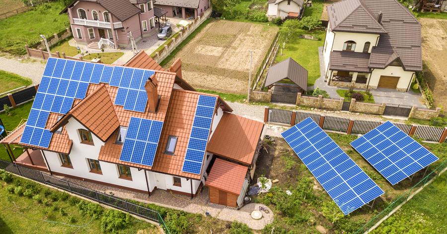 Superbonus 110%: trainato anche il fotovoltaico sul terreno