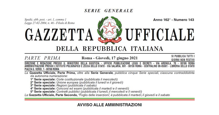 Prevenzione rischio sismico: in Gazzetta Ufficiale l'Ordinanza n. 780/2021