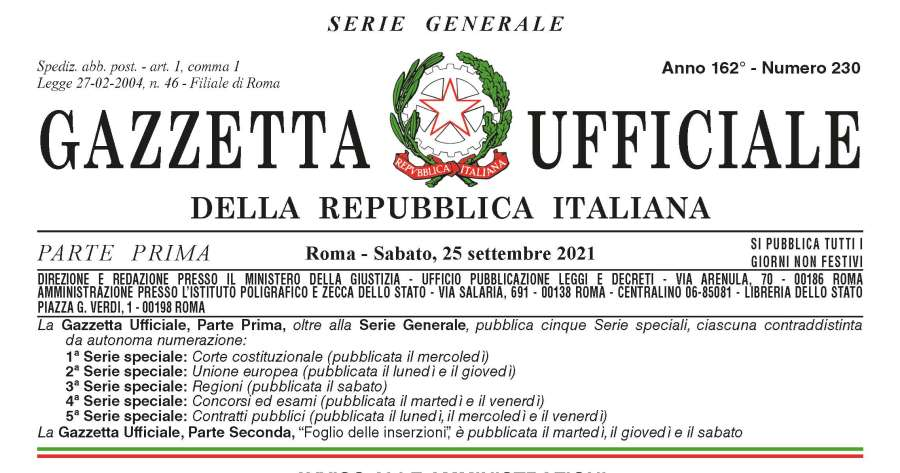 """Gazzetta ufficiale: Pubblicato il """"Decreto controlli"""" sugli impianti antincendio"""