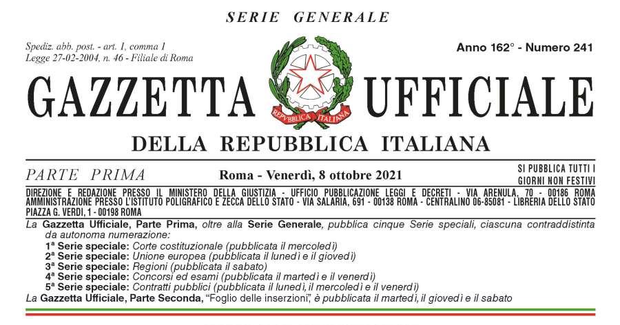 """Gazzetta ufficiale: Pubblicato il Decreto-legge sulle """"Capienze"""""""