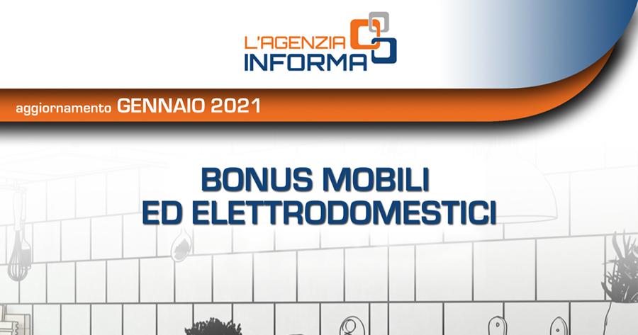 Bonus Mobili 2021: la nuova guida dell'Agenzia delle Entrate