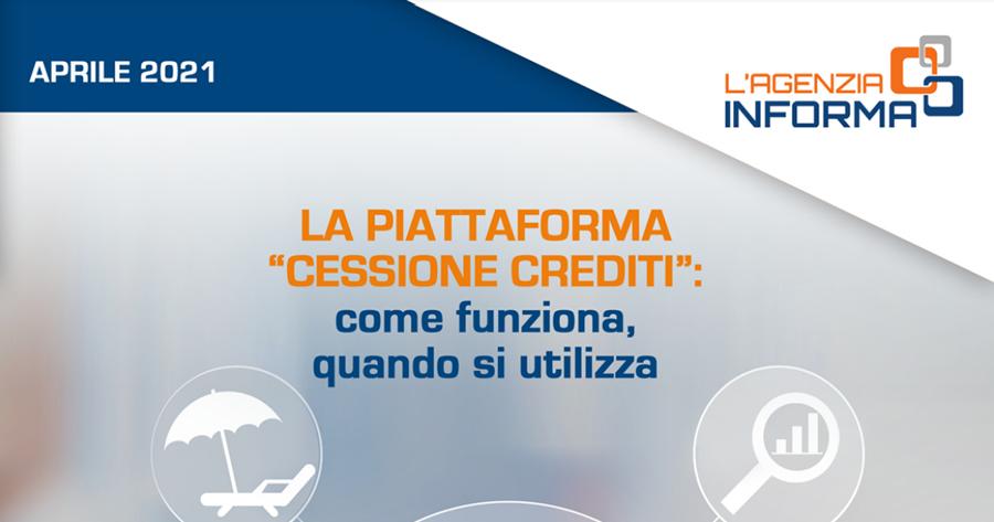 Piattaforma Cessione crediti: la nuova guida dell'Agenzia delle Entrate