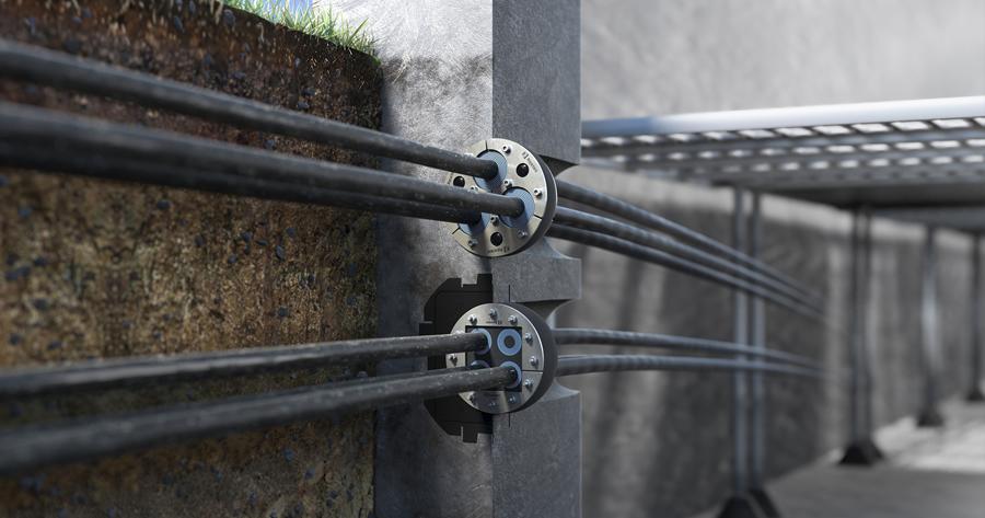 Roxtec UG, sistema di sigillatura resistente alla pressione costante