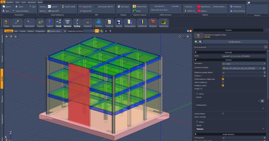 Disponibile la nuova versione di IperSpace BIM, la suite per la modellazione, l'analisi ed il calcolo strutturale all'avanguardia