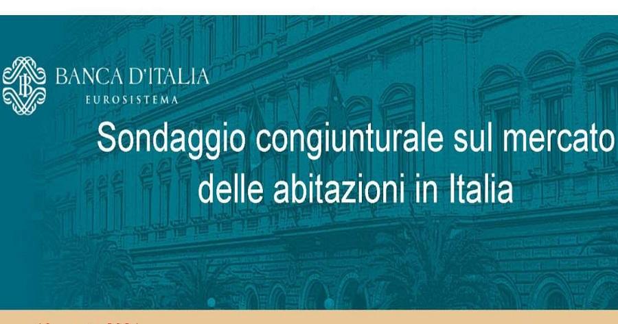 Bankitalia: Sondaggio mercato delle abitazioni
