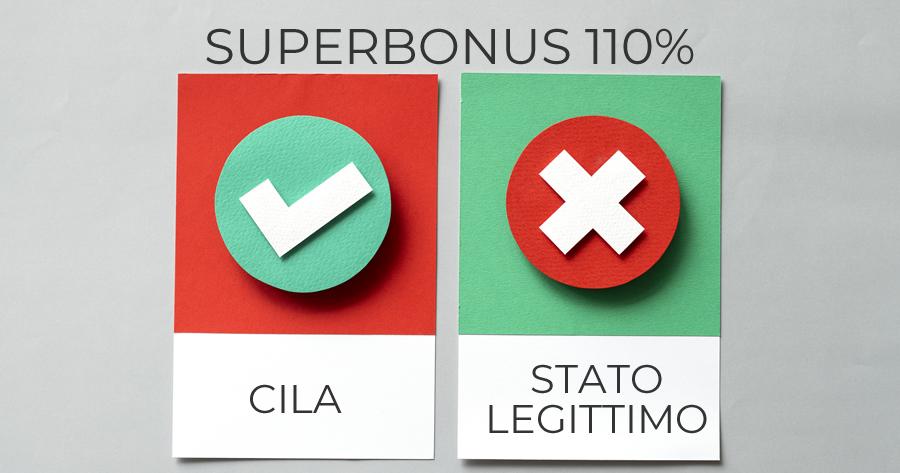 Superbonus 110%, CILA e verifica di conformità: è vera semplificazione?