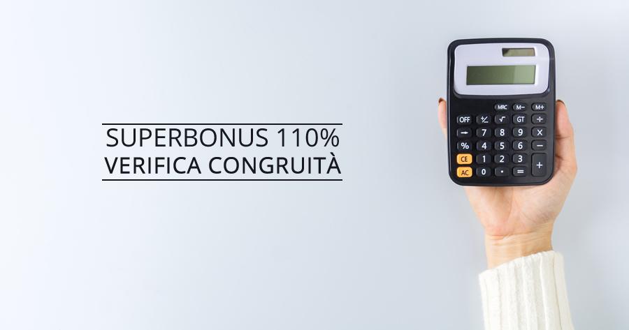 Superbonus 110% e verifica congruità dei costi: allarme prezzari regionali