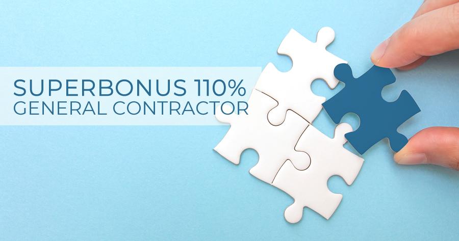 Superbonus 110% e Progettazione, OICE: 'General Contractor una opportunità'