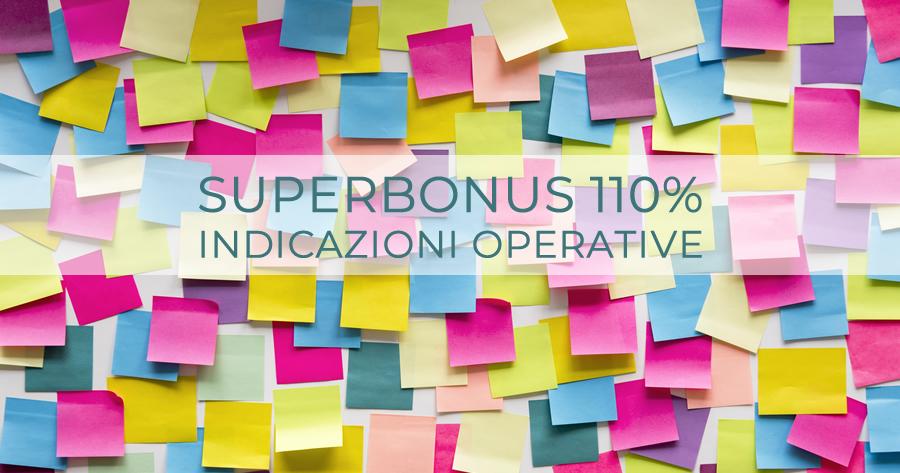 Superbonus 110%: le indicazioni operative per la presentazione della nuova CILA