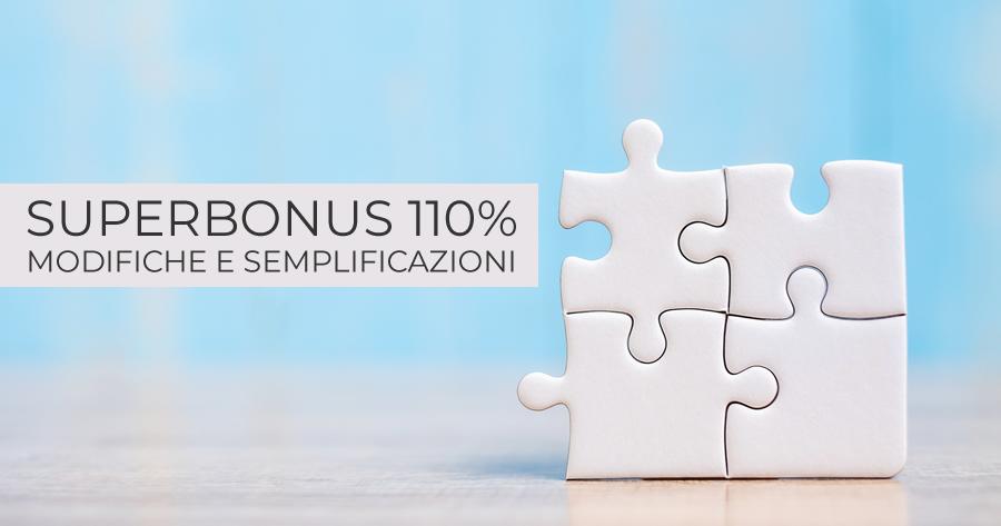 Superbonus 110% al 2023-2025, verifica di conformità e semplificazioni