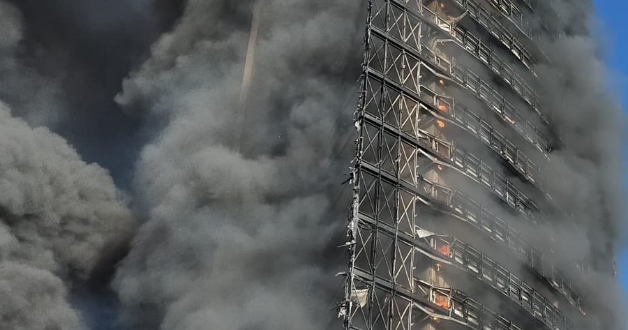 Incendio grattacielo Torre dei Moro: assolto il cappotto termico