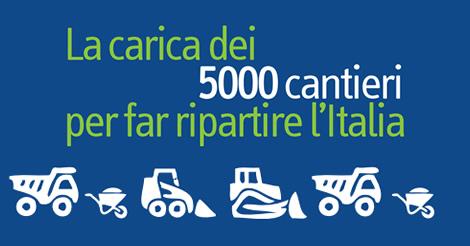 Building Day: Dall'Ance 5000 cantieri per far ripartire l'Italia