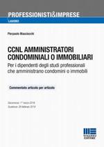 CCNL amministratori condominiali o immobiliari