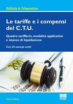 Le tariffe e i compensi del C.T.U.