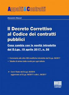 Il Decreto Correttivo al Codice dei contratti pubblici