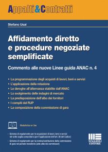 Affidamento diretto e procedure negoziate semplificate