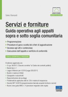 Servizi e forniture - Guida operativa agli appalti sopra e sotto soglia comunitaria