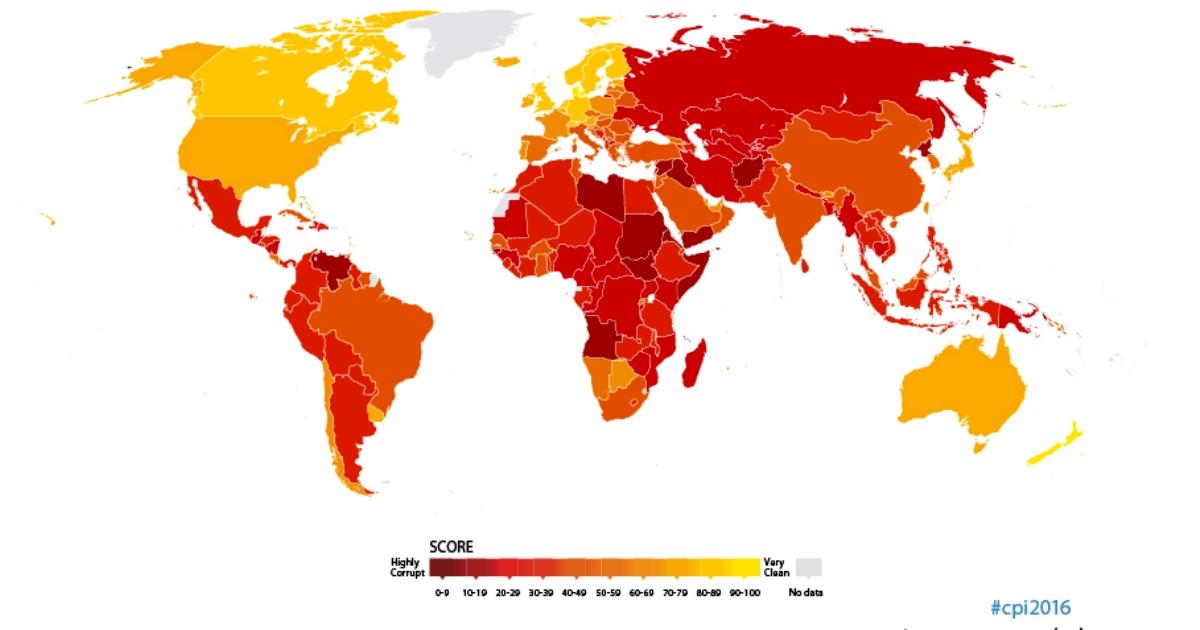 Indice di percezione della corruzione: L'Italia guadagna una posizione, ma non basta