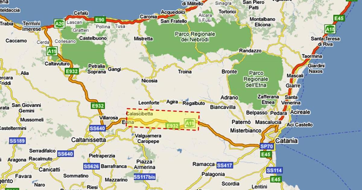 Ferrovia Palermo-Catania: Bando di gara per il tratto Bicocca-Catenanuova