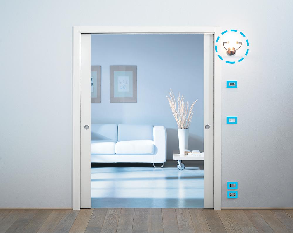 l 39 incontro tra la luce e la porta scorrevole eclisse richiesta informazioni. Black Bedroom Furniture Sets. Home Design Ideas