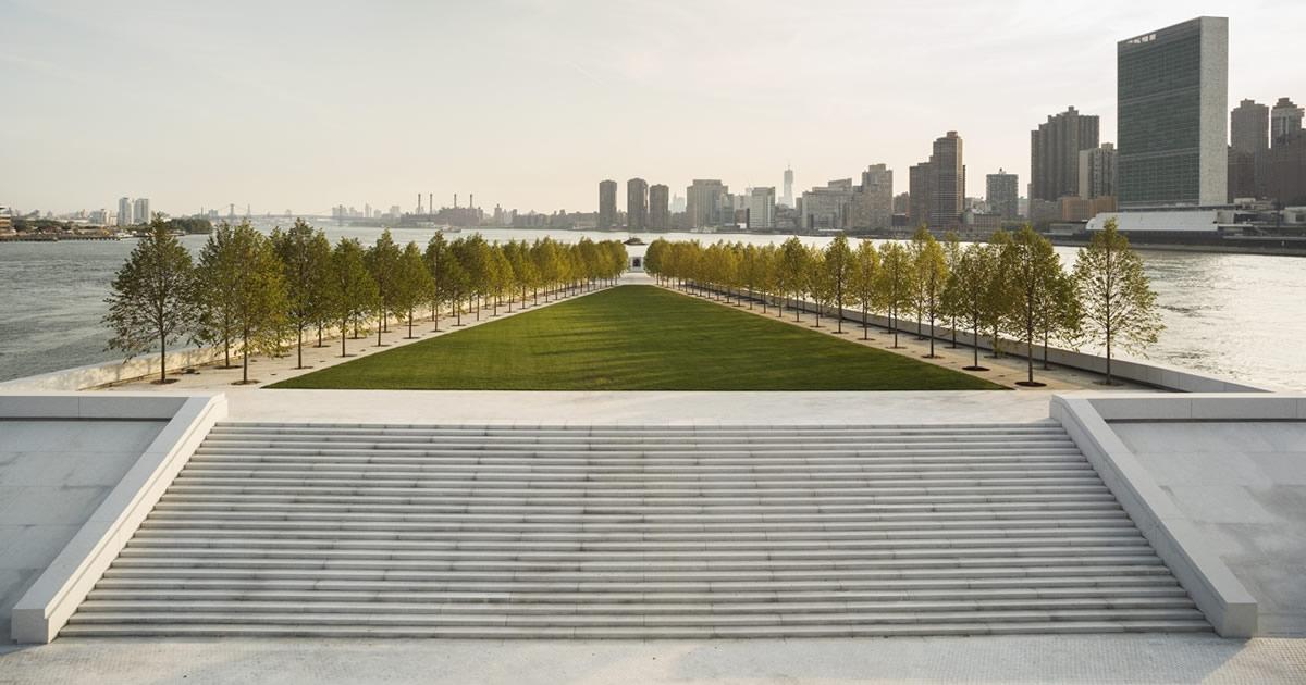 Dal Four Freedoms Park di New York alla Villa Deliella di Palermo