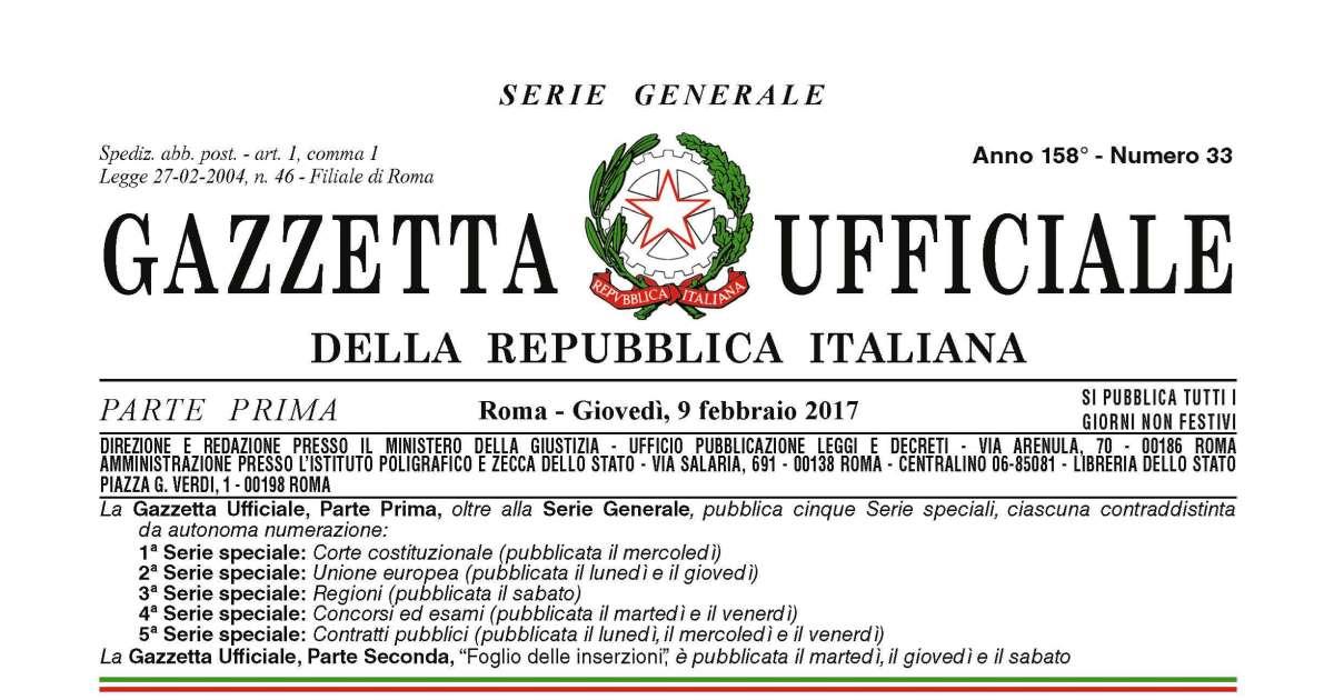 Terremoto centro-Italia: Pubblicato sulla Gazzetta il nuovo decreto-legge