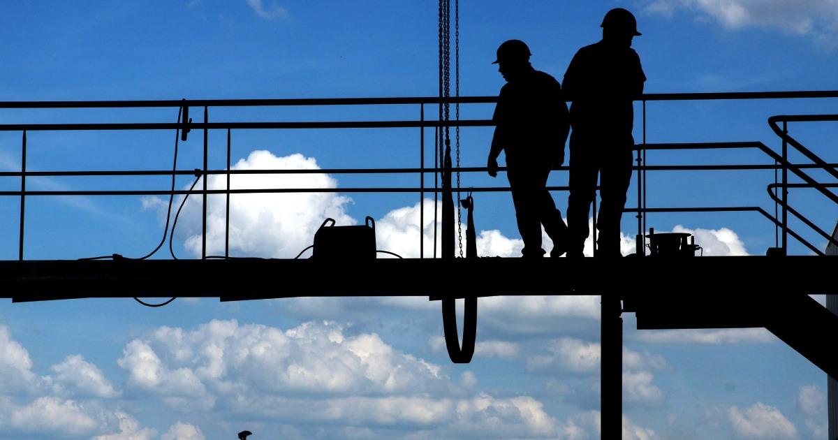 Costruzioni: irregolare il 15,9% dei lavoratori