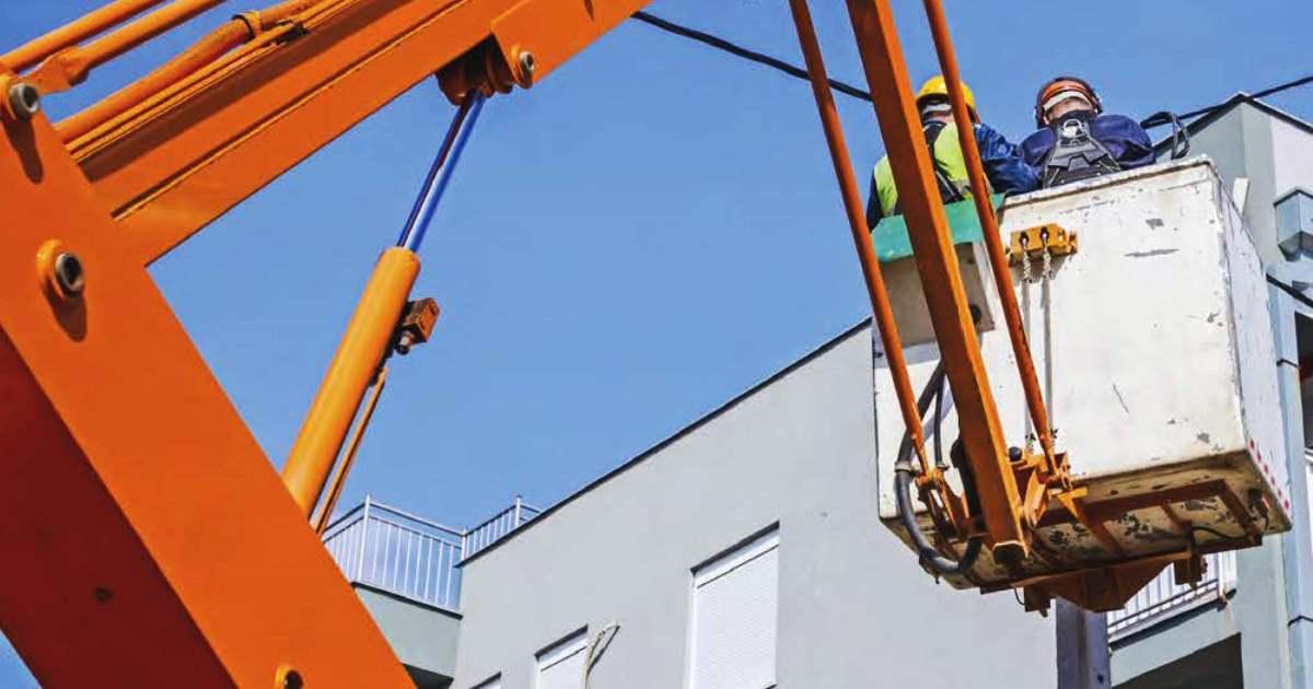 Piattaforme di lavoro mobili in elevato nei cantieri temporanei o mobili: Guida Inail