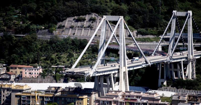 Crollo Ponte Morandi: Commissione ispettiva con un componente dimissionario e l'altro sollevato