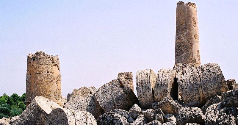 Selinunte: Eratostene di Cirene tra le colonne del più grande Tempio della cultura Greca