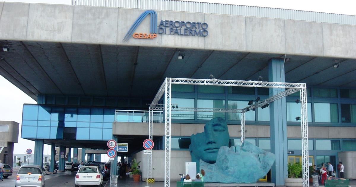 Aeroporto di Palermo: Bando di progettazione da 1 milione di Euro