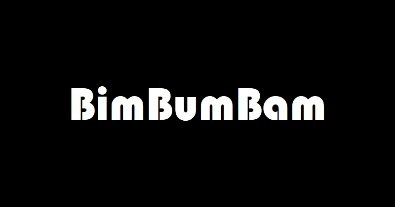 BIM BUM BAM: L'allegra storia del BIM