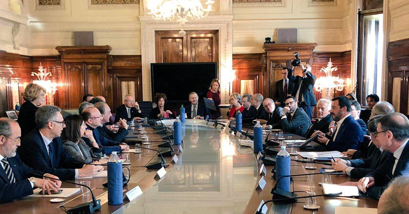 #Sbloccacantieri: le proposte dei costruttori sul tavolo del Vicepremier Matteo Salvini