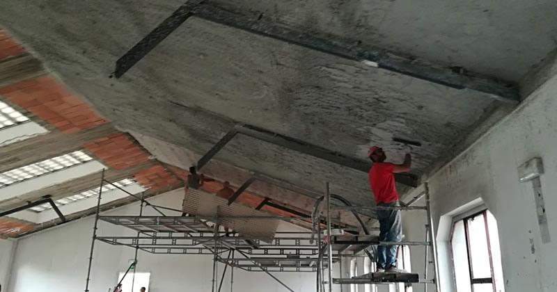 Antisfondellamento solai: completati i lavori in un Istituto secondario di Rho con sistemi Made in Italy