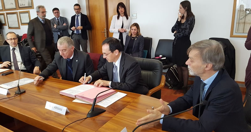 Appalti: siglato accordo tra ANAS e Sindacati Edili