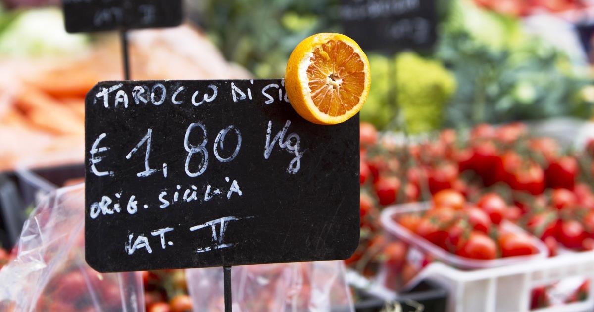 Istat: Indici prezzi al consumo dicembre 2015