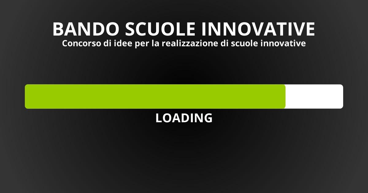 Scuole innovative: il concorso di idee con un bando e una piattaforma innovativi