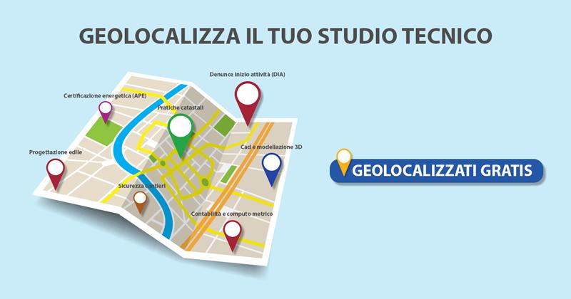 Geolocalizza il tuo studio