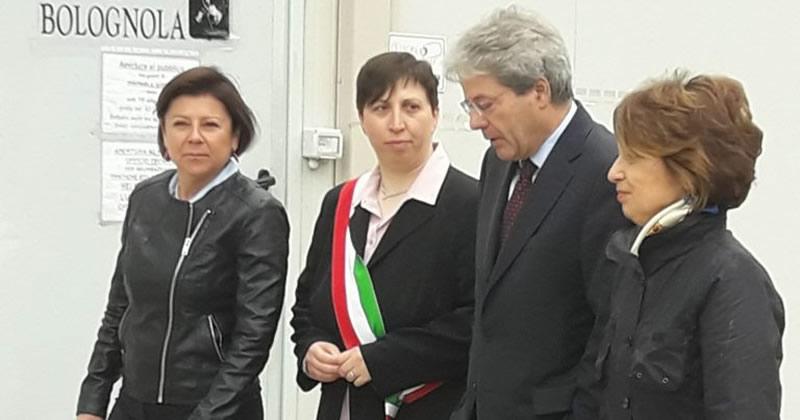 Terremoto centro Italia: a Bolognola inaugurata la prima opera pubblica della ricostruzione