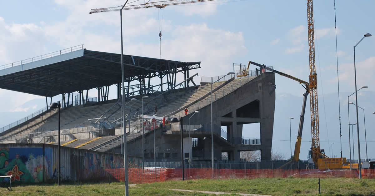 Ristrutturazione e completamento dello stadio Casaleno in Frosinone