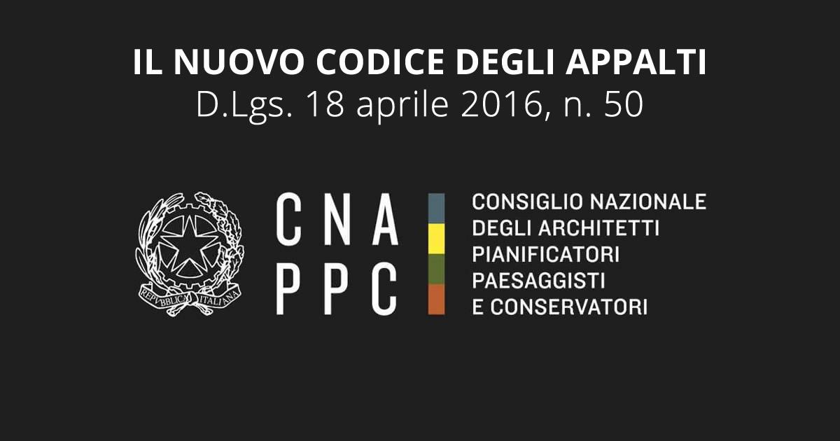 Il nuovo Codice degli Appalti non piace agli Architetti (CNAPPC)