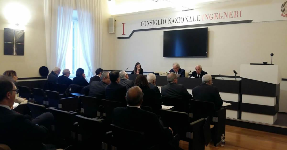 Le organizzazioni di ingegneri del Mediterraneo si incontrano al Consiglio Nazionale degli Ingegneri