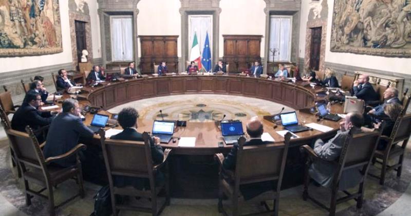 Consiglio dei Ministri: Approvata la nota DEF 2018 con deficit al 2,4% per tre anni